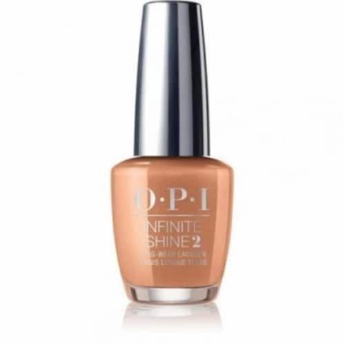 OPI Nail Polish Lacquer Infinite Shine - Sweet Carmel Sunday ISL D44 Perspective: front