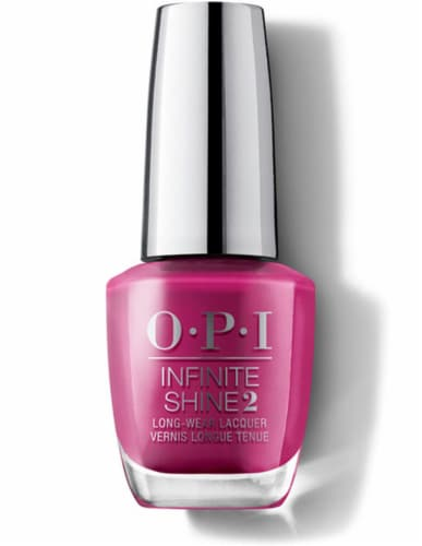 OPI Nail Polish Lacquer Infinite Shine - Don't Provoke The Plum IS L63 Perspective: front