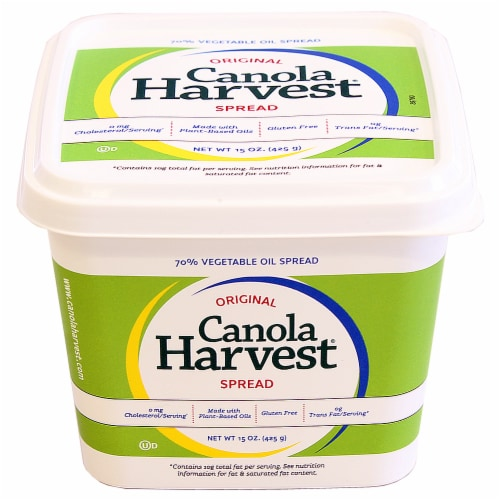 Canola Harvest Original Buttery Vegetable Oil Spread Perspective: front