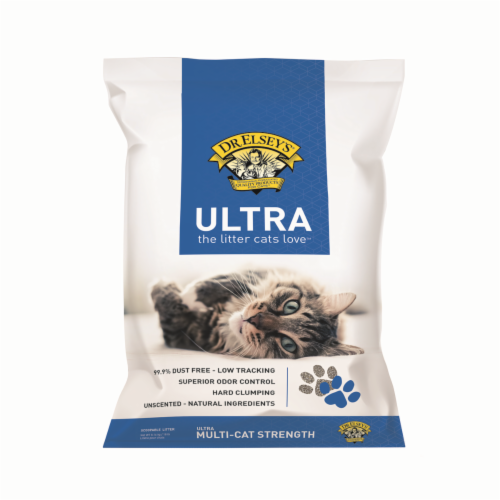 Dr. Elsey's Ultra Cat Litter Perspective: front