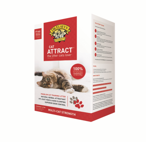Dr. Elsey's Cat Attract Cat Litter Perspective: front