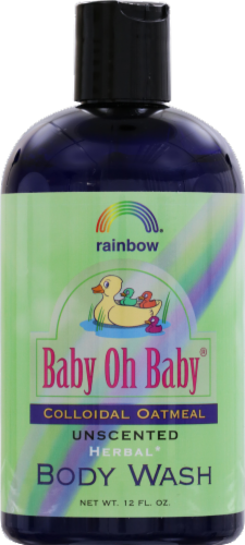 Rainbow Baby Oh Baby Colloidal Oatmeal Unscented Body Wash Perspective: front