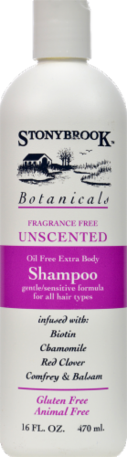 Stonybrook Botanicals Fragrance Free Unscented Shampoo Perspective: front