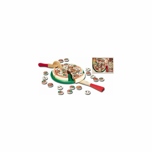 Melissa & Doug® Pizza Party Toy Set Perspective: front