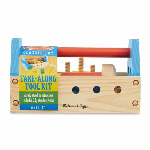 Melissa & Doug® Take-Along Tool Kit Perspective: front