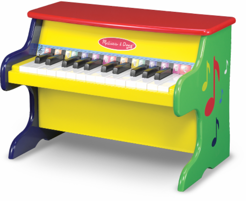 Melissa and Doug® Learn-to-Play Piano Perspective: front