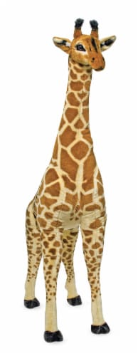 Melissa & Doug® Plush Giraffe Perspective: front