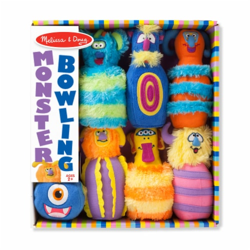 Melissa & Doug® Monster Bowling Perspective: front