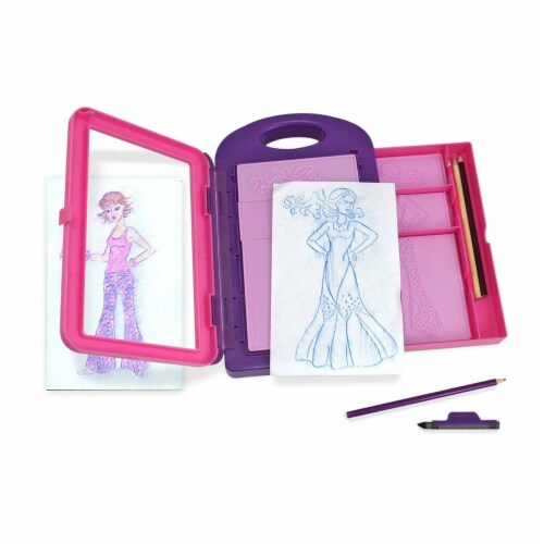 Melissa And Doug Fashion Design Activity Kit Perspective: front