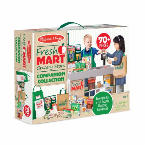 Melissa & Doug® Fresh Mart Grocery Store Companion Collection Perspective: front
