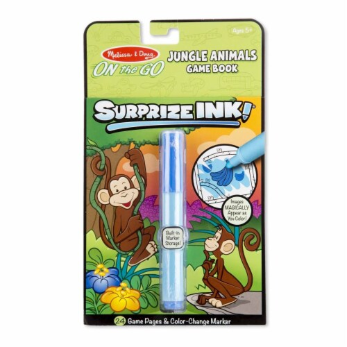 Melissa And Doug On The Go Surprize Ink Jungle Animals Set Perspective: front