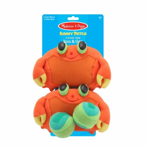 Melissa & Doug® Clicker Crab Toss & Grip Game Perspective: front