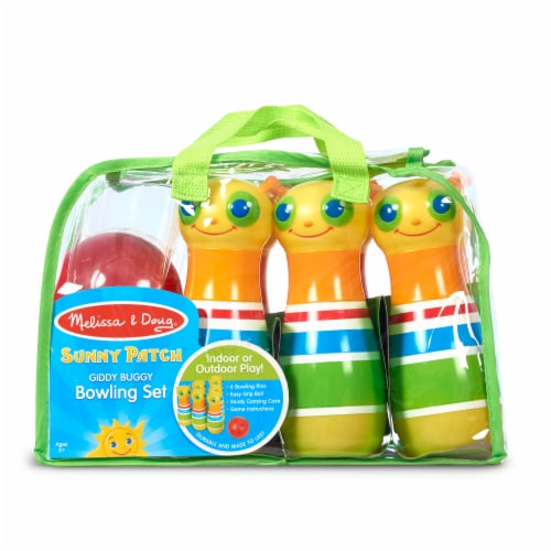 Melissa & Doug® Giddy Buggy Bowling Set Perspective: front