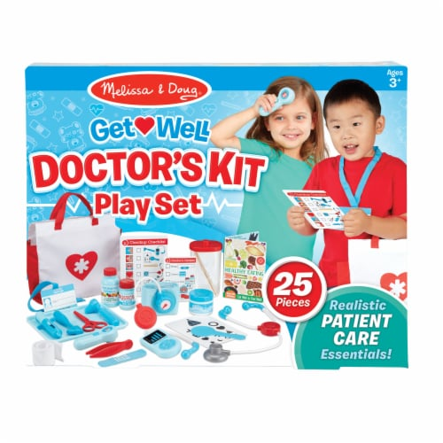Melissa & Doug® Get Well Doctor's Kit Play Set Perspective: front