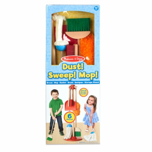 Melissa and Doug® Let's Play House Dust Sweep and Mop Set Perspective: front
