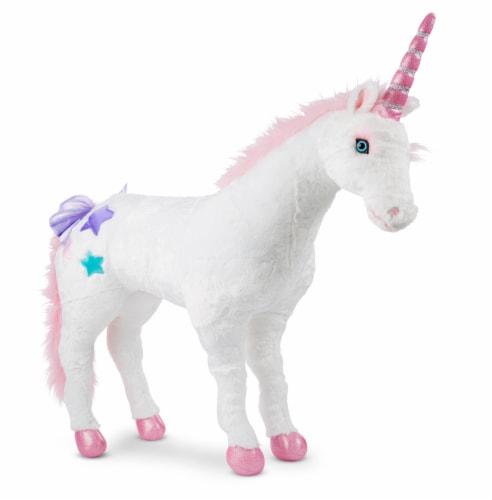 Melissa & Doug® Unicorn Plush Perspective: front