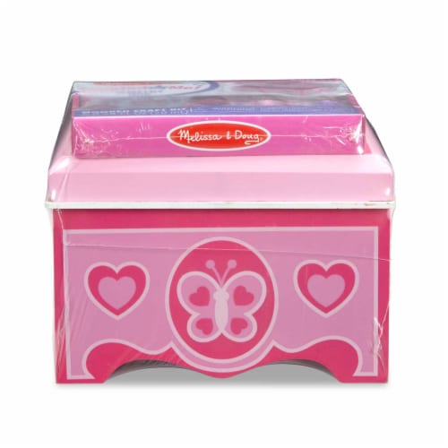 Melissa & Doug® Created by Me Jewelry Box Craft Kit Perspective: front