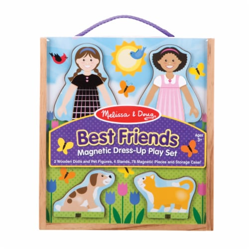 Melissa & Doug® Best Friends Magnetic Play Set Perspective: front