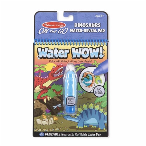 Melissa & Doug Dinosaurs Water Reveal Pad 2 pc. - Case Of: 1; Perspective: front