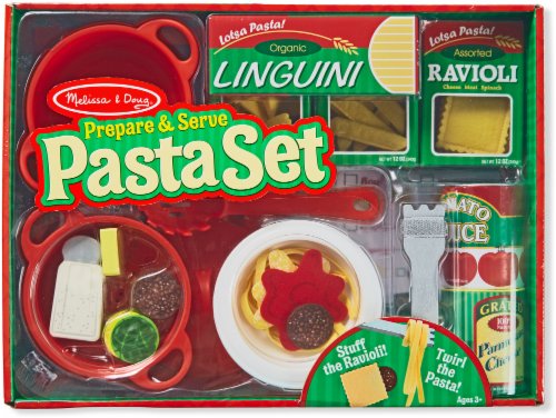 Melissa and Doug® Prepare and Serve Pasta Set Perspective: front