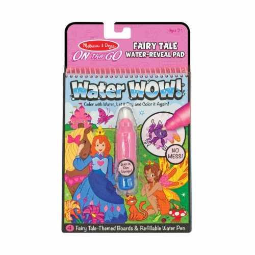 Melissa and Doug® Water Wow! Fairy Tale Water-Reveal Pad Perspective: front