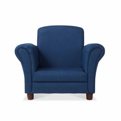 Melissa & Doug® Child's Armchair - Denim Perspective: front