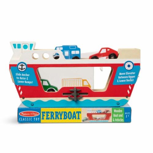 Melissa & Doug® Ferryboat Toy Set Perspective: front