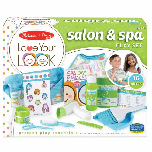 Melissa & Doug® Salon and Spa Play Set Perspective: front