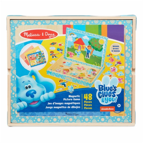 Melissa & Doug Blues CluesMagnetic Game Perspective: front