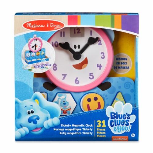 Melissa & Doug Blue Clues Clock Perspective: front