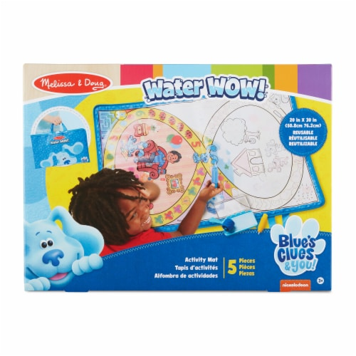Melissa & Doug Blues Clues Water Wow Mat Perspective: front