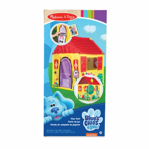 Melissa & Doug Blues Clues & You Play Tent Perspective: front