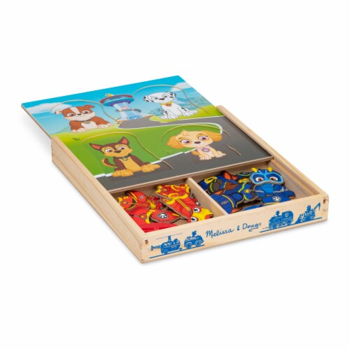 Melissa & Doug Paw Patrol Magnetic Playset Perspective: front