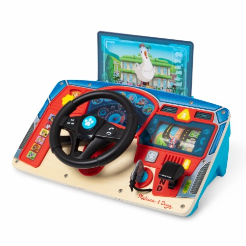 Melissa & Doug Paw Patrol Wooden Dashboard Perspective: front