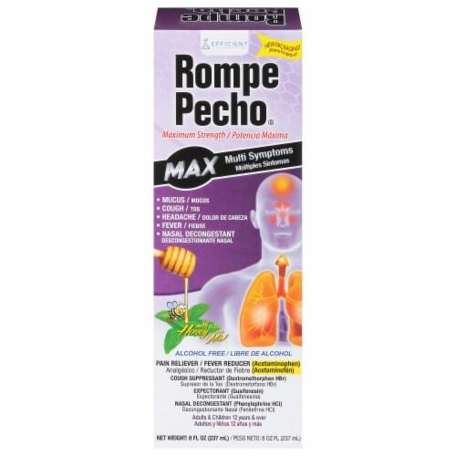 Rompe Pecho Maximum Strength Multi Symptom Relief Perspective: front