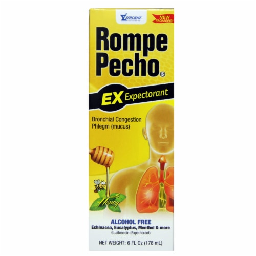 Rompe Pecho Cough Syrup Perspective: front