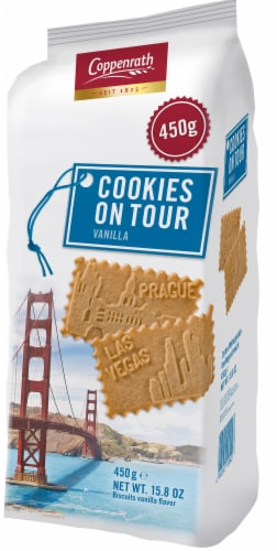 Coppenrath Cookies on Tour Vanilla Biscuits Perspective: front