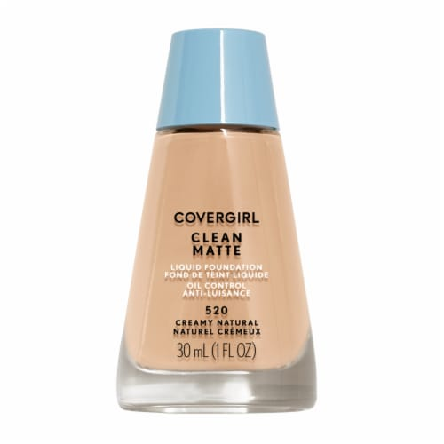 CoverGirl Clean Oil Control 520 Creamy Natural Foundation Perspective: front