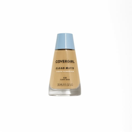 CoverGirl Clean Oil Control Classic Beige 530 Foundation Perspective: front