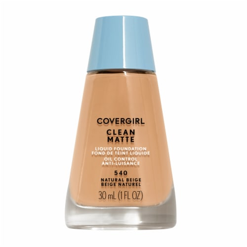 CoverGirl Clean Oil Control 540 Natural Beige Foundation Perspective: front
