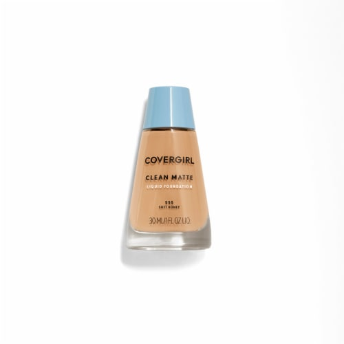 CoverGirl Clean Oil Control Soft Honey 555 Foundation Perspective: front
