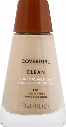 Cover Girl Clean Normal Skin 110 Classic Ivory Foundation Perspective: front