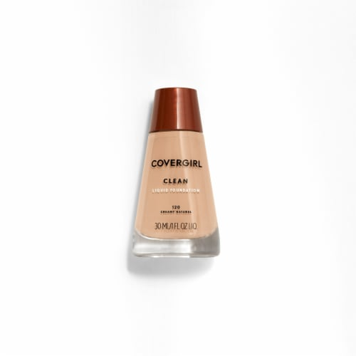 CoverGirl Clean 120 Creamy Natural Foundation Perspective: front