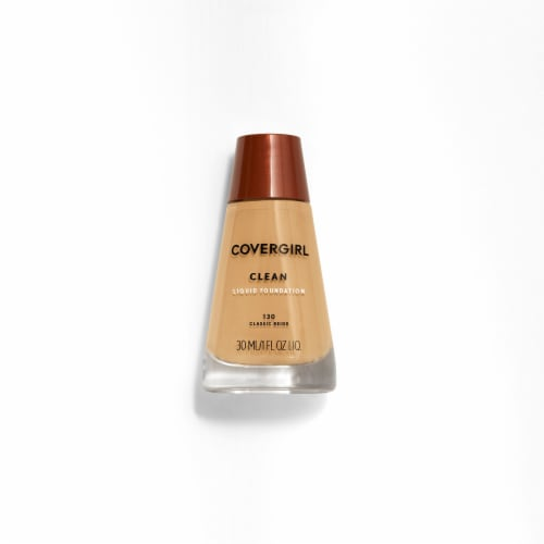 CoverGirl Clean Liquid Foundation - 130 Classic Beige Perspective: front