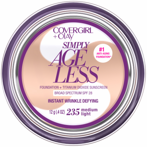 CoverGirl + Olay Simply Ageless 235 Medium Light Foundation Powder Perspective: front