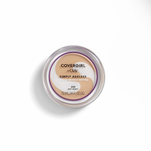 CoverGirl + Olay Simply Ageless Soft Honey 255 Foundation Powder Perspective: front