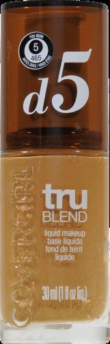 CoverGirl TruBlend Tawny Liquid Makeup D5 Perspective: front