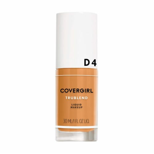CoverGirl TruBlend Tan Liquid Makeup D4 Perspective: front