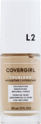 CoverGirl TruBlend L2 Classic Ivory Foundation Perspective: front
