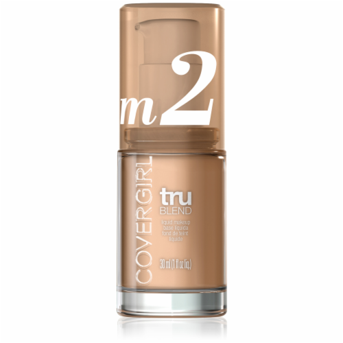 CoverGirl TruBlend Makeup Medium Light Foundation Perspective: front